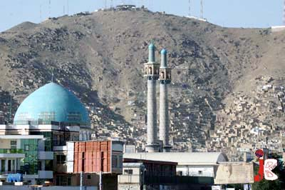 August 21: A beautiful view of ancient city of Kabul.