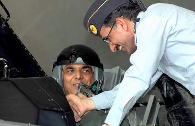 General Kayani is the first Army chief of Pakistan who made F-16 flight to take part in the operation
