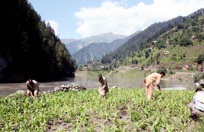 June, 26: A view of Beautiful Neelam valley