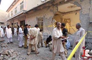 peshawar home blast