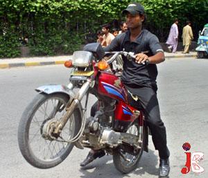 wheeling bike