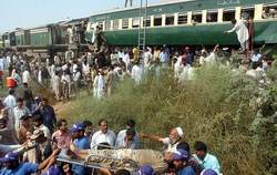 train accident karachi